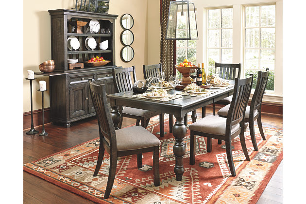 Modern dining room table and chairs rectangular kitchen tables and chairs upholstered in brown textured fabric digyshw