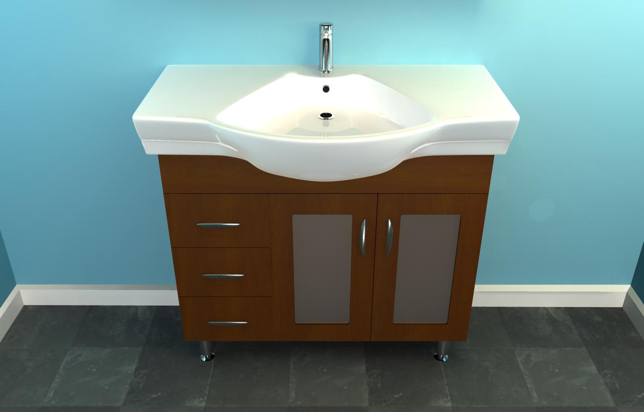 Modular back to: skyrocket tips to choose narrow bathroom vanities qgclwyz