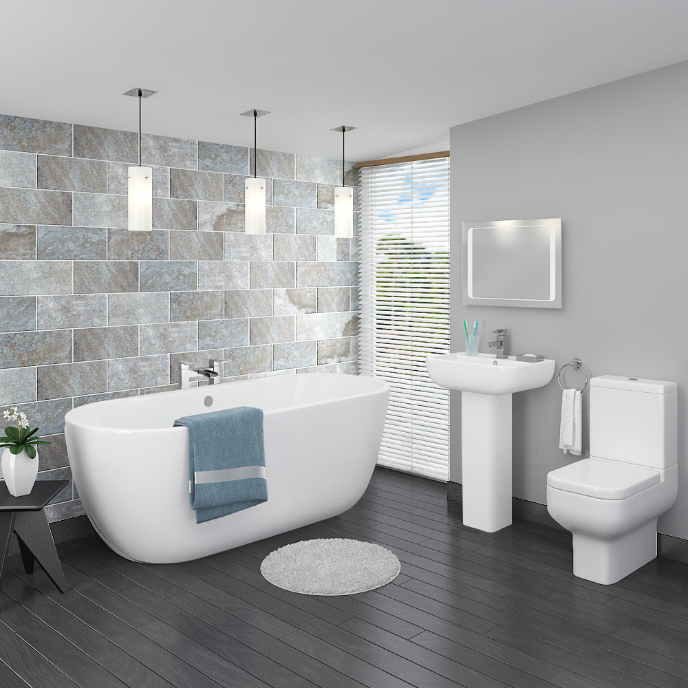 3 perfect bathroom suites for small bathrooms