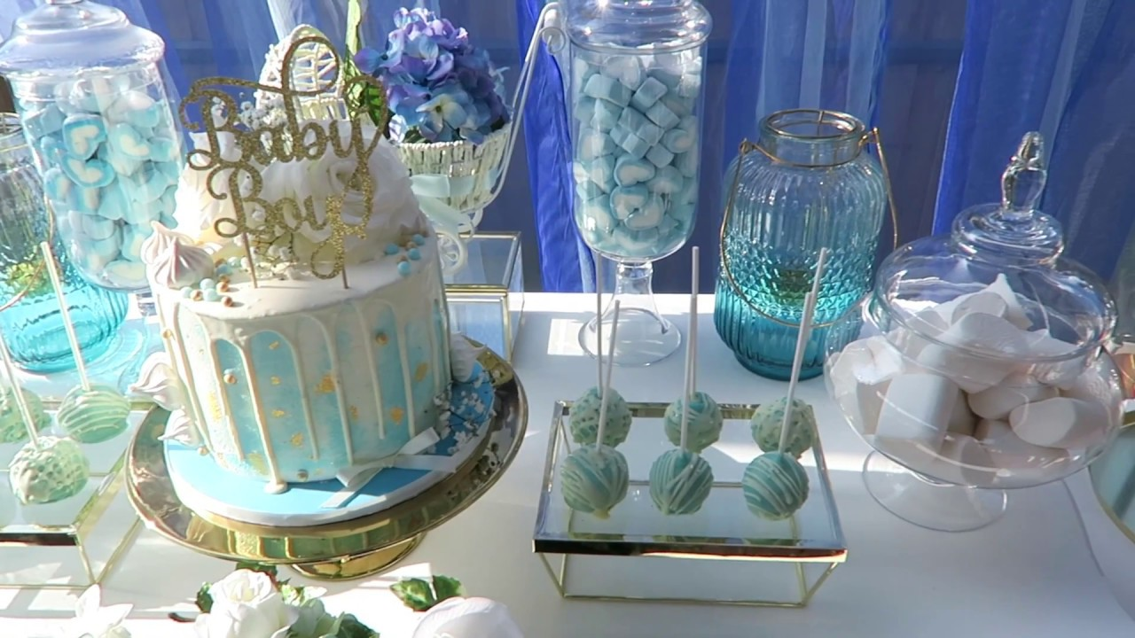 3 best blue and gold baby shower decorations