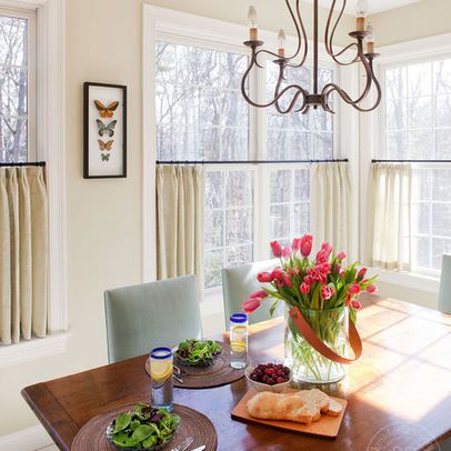 Modular cafe curtains for kitchen let the outdoors in with short, sweet curtains. cafe curtains kitchensunroom  ... jhtfwxt