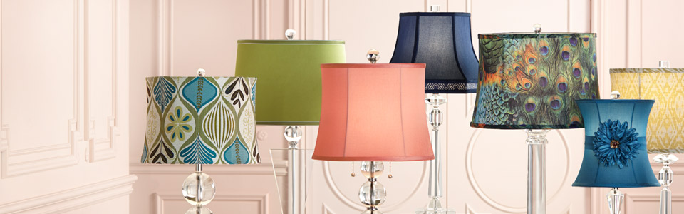 Modular lamp shades for table lamps and more - decorate with a fresh new mmhombr