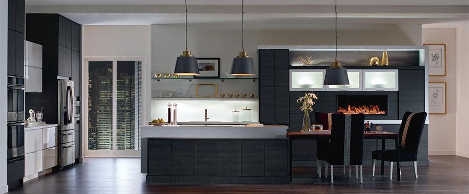 Modular semi custom kitchen cabinets contemporary kitchen cabinets featuring wixom and tranter laminate door  styles omfcpbi