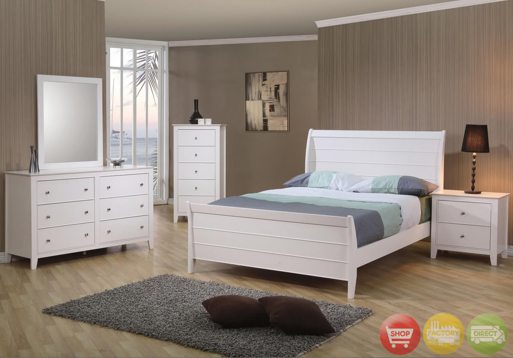 White wood bedroom furniture – a premium choice