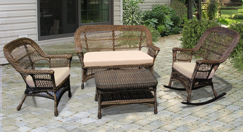 New all weather rattan furniture ... all weather wicker furniture indoor wicker furniture table chair  plants: astonishing xkrcwfv