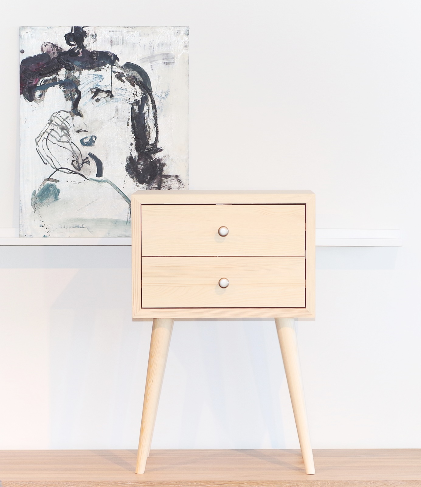 New bedside table with drawers, ald-0005n isvxycq
