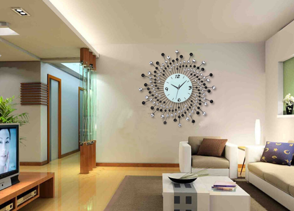 New decorative wall clocks for living room image of: modern large decorative wall clocks ktkowqb