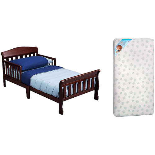 New delta canton toddler bed with mattress, your choice of finish - walmart.com fapdeoo