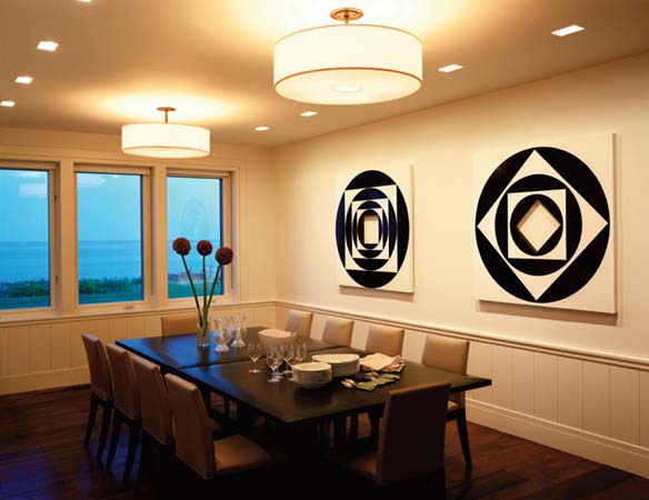 The art of dining room ceiling lights