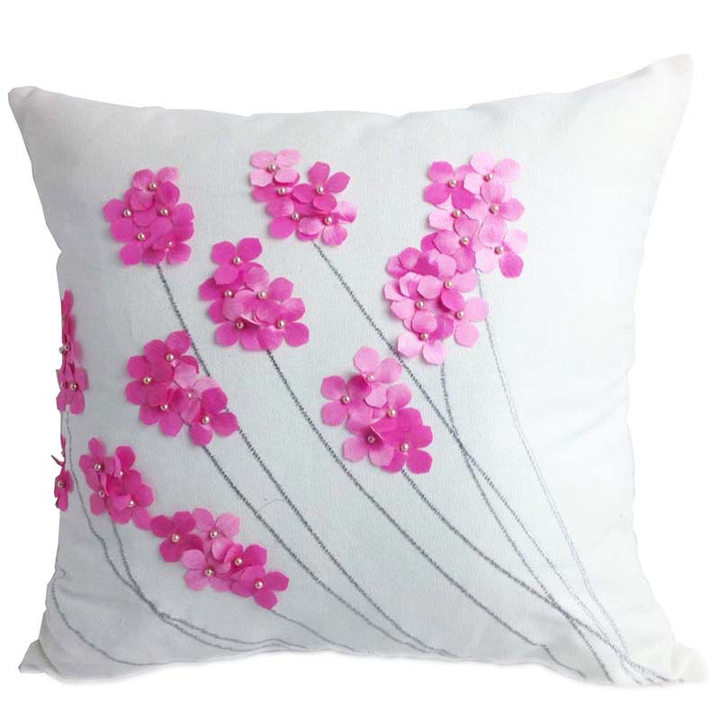 New embroidered cushion covers aliexpress.com : buy decorative cotton embroidery cushion cover with beads  , home axhytep