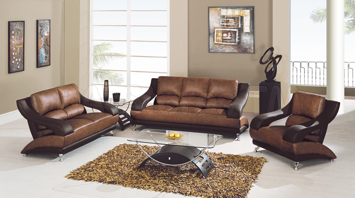 New leather sofa and loveseat ... marvelous 1798 00 3 pc tan brown leather sofa set loveseat and wzrfvie