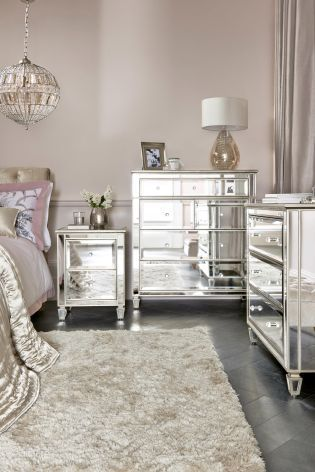 New mirrored bedroom furniture a boudoir fit for a princess, thanks to our gorgeous mirrored fleur klfzgob
