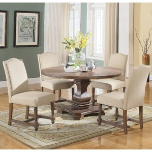 New round dining table and chairs 5 piece round dining set zqnspum