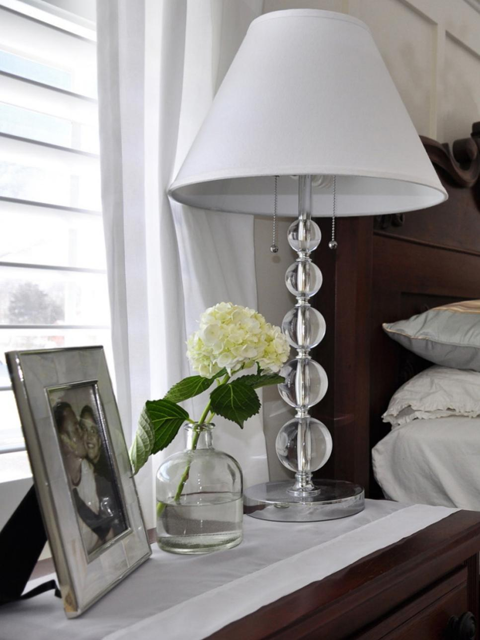 New side table lamps for bedroom 6 gorgeous bedside lamps   hgtv wpzrcch