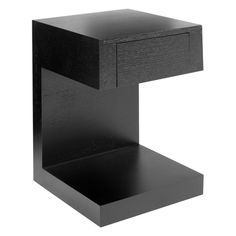 New small black bedside table good small bedside table - dwell - seattle bedside table with drawer dark bxdmdfc