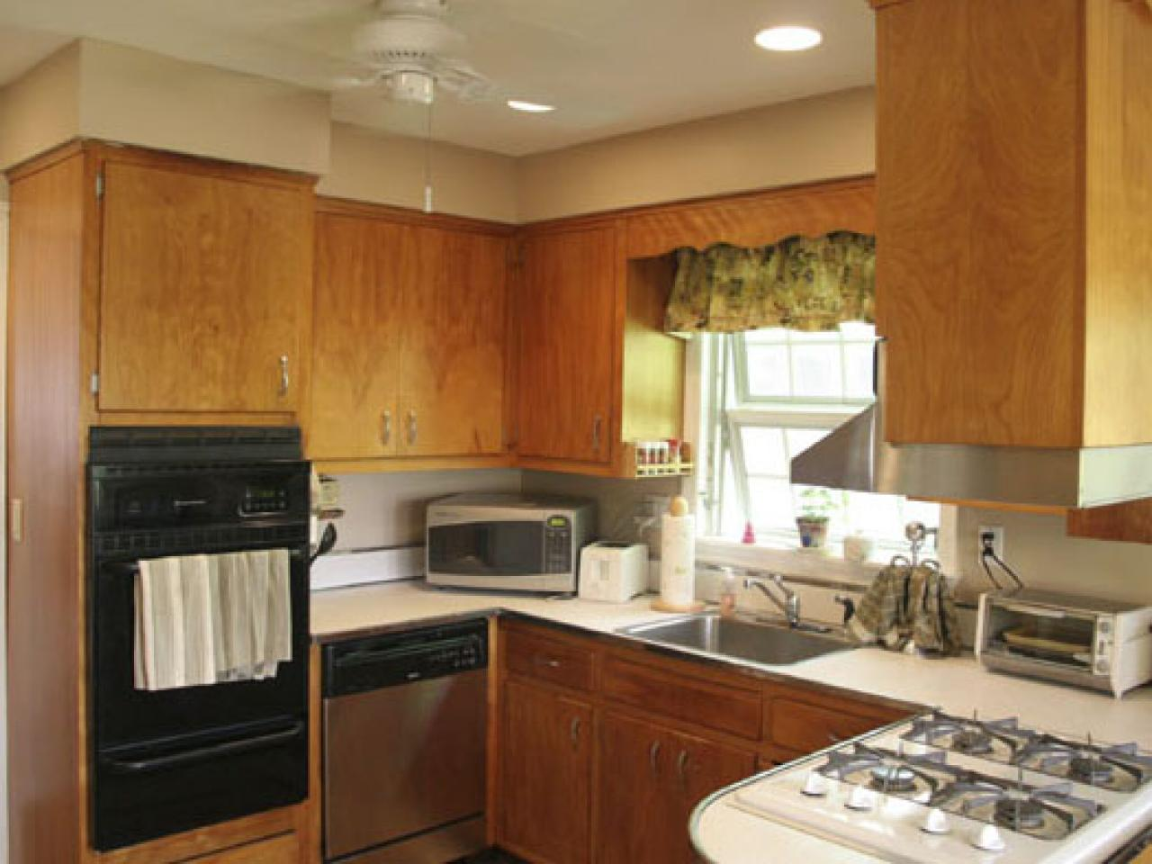 New staining kitchen cabinets materials and tools: ugqhywe