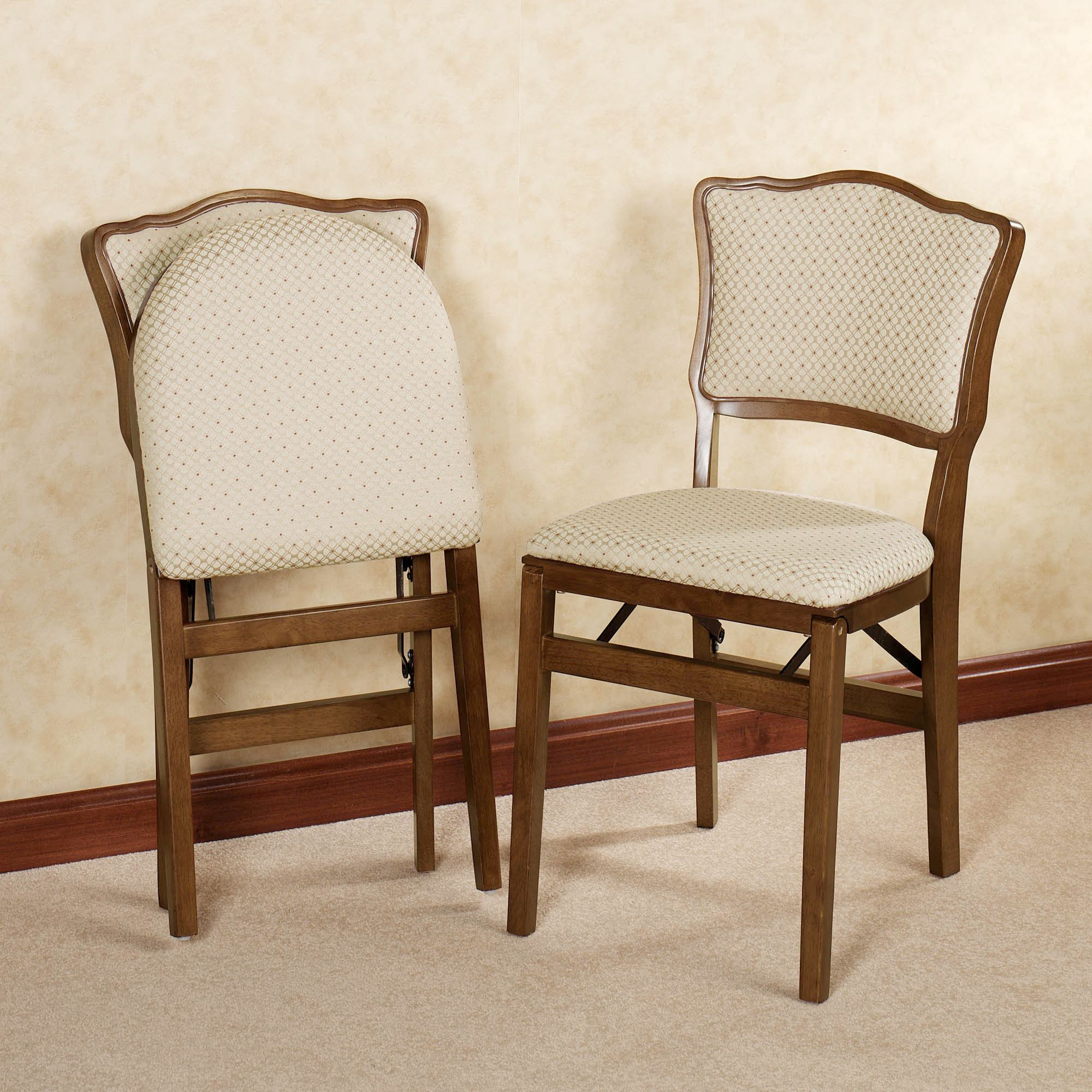 New upholstered folding chairs dover upholstered chair pair pair oddxayb