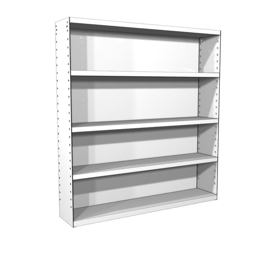 New wall mounted storage shelves classic rx wall-mounted storage shelving - lozier ghexdte