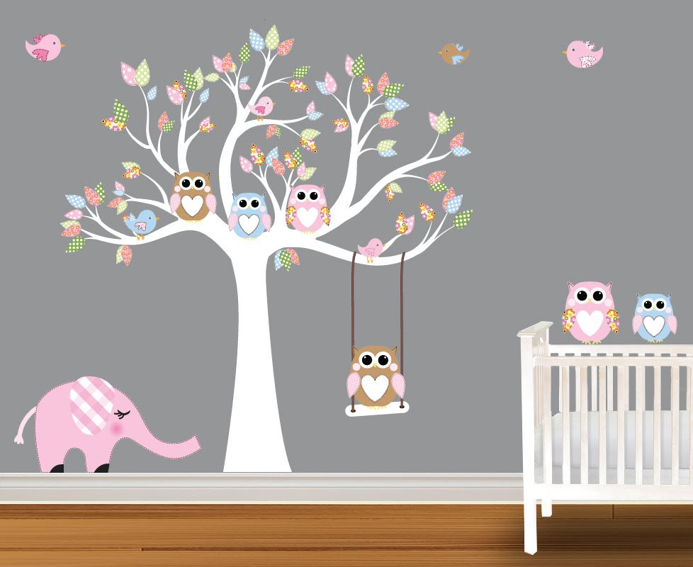 New wall stickers for nursery baby wall decals - nursery wall decals birch trees - youtube affsxdd