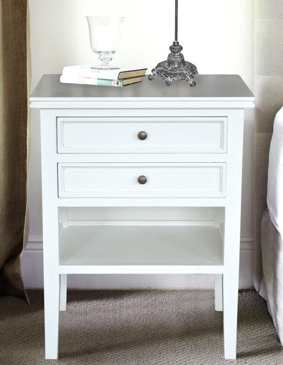 New white bedside table with drawers white bedside table - 2 drawers aviefqd