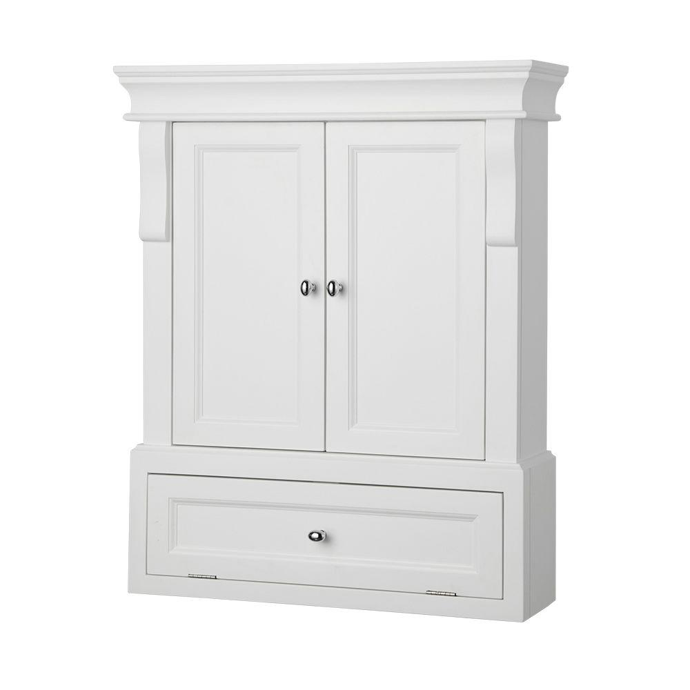 Photos of bathroom wall storage cabinets does this cabinet come already assembled and ready to hang? unwnwsl