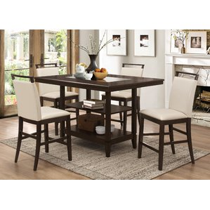 Photos of counter height dining table winchester 5 piece counter height dining set dcepdgi