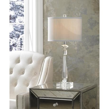 Photos of crystal table lamps for bedroom aline modern crystal table lamp $79.95 efybdem