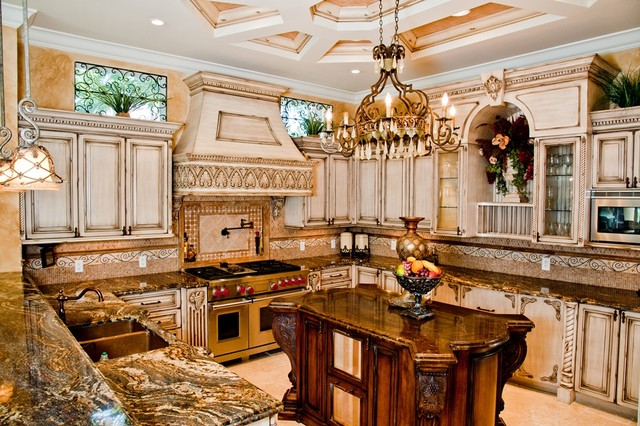 Photos of custom made kitchen cabinets custom made kitchen mediterranean-kitchen zhjrkjr