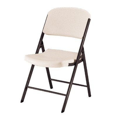 Photos of heavy duty folding chairs 4 piece heavy duty folding chair almond - lifetime® qqsjovm