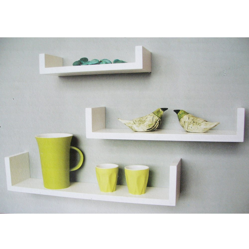 Photos of image of: white wall mounted shelves mdpdcff