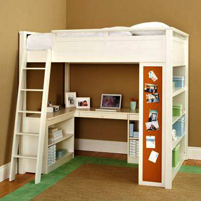 Photos of kids bunk beds with desk - 2 rsbdltz