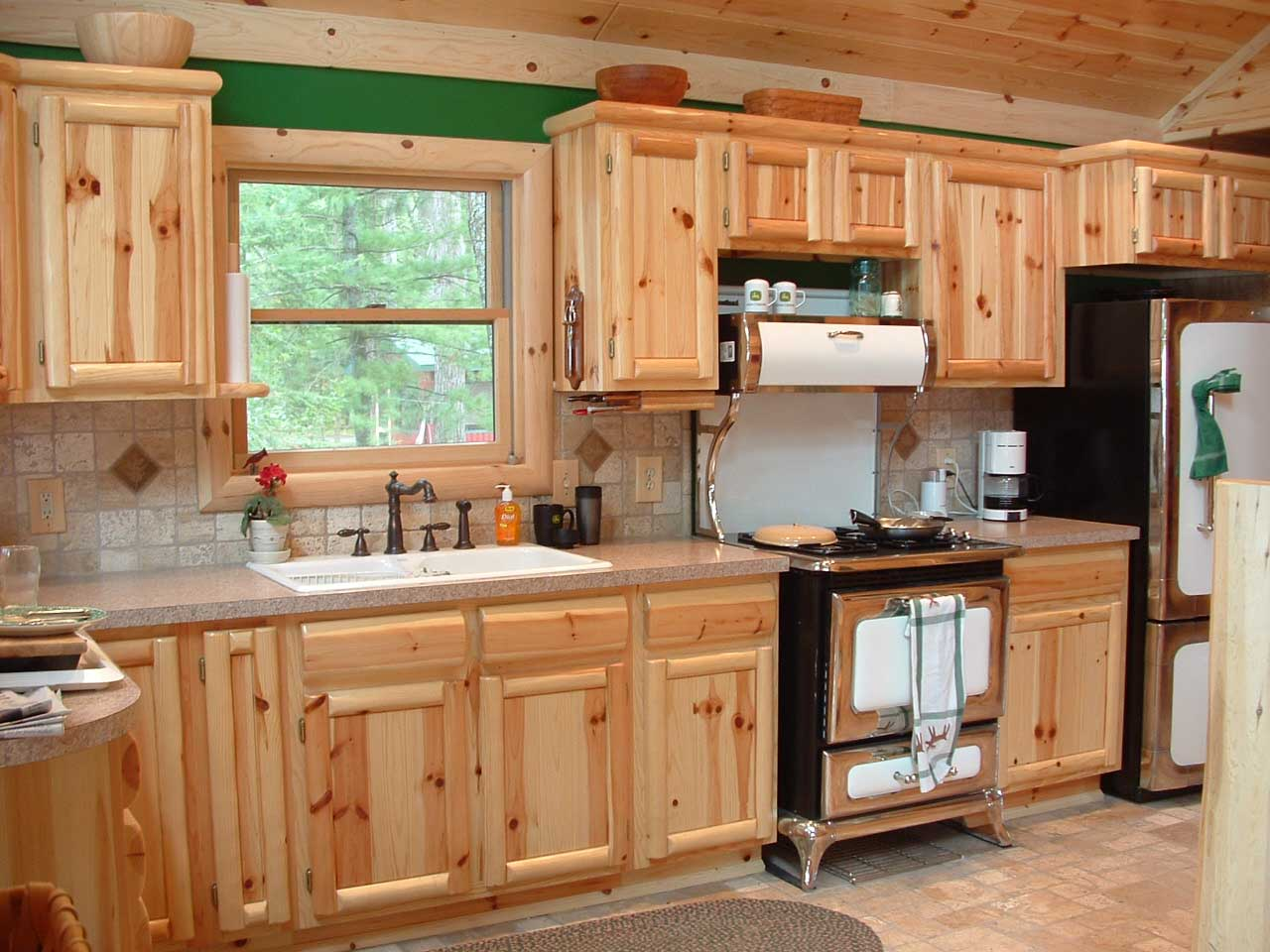 Photos of knotty pine kitchen cabinets 03webquality aghihed