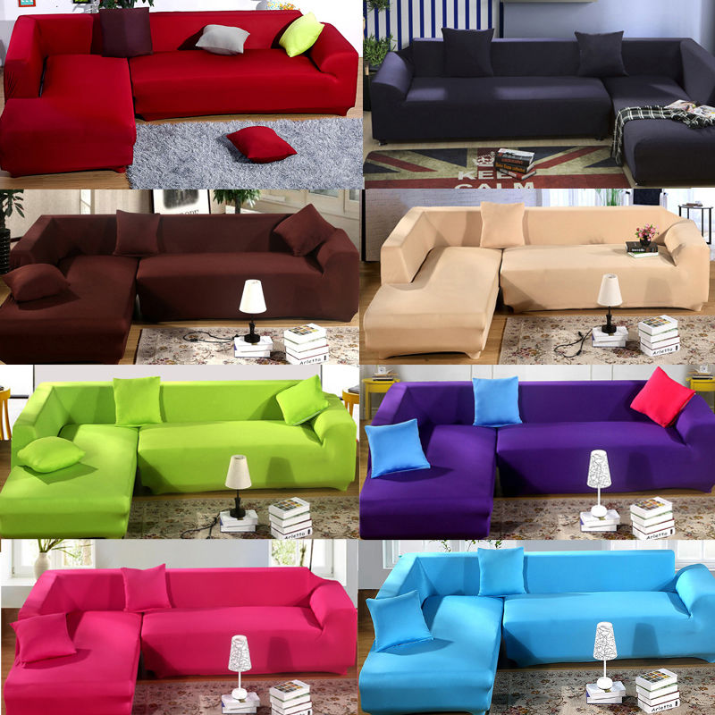 Photos of l shaped sectional couch covers 1 2 3 seater l shape loveseat chair stretch sofa couch lounge protect cgicbgi