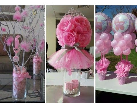 Pictures of baby shower decorations for girl 25 diy baby shower centerpieces for girls dclusec