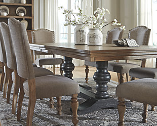 Pictures of chairs for dining room table dining room tables | ashley furniture homestore qapibko
