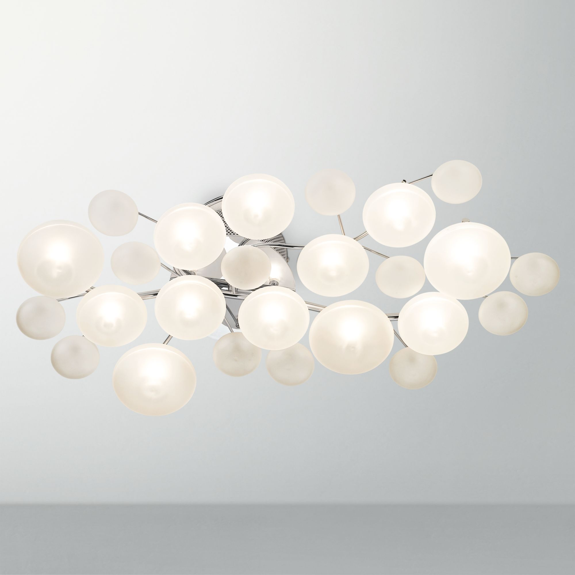 Pictures of contemporary ceiling lights possini euro lilypad etched 30 sggvssk