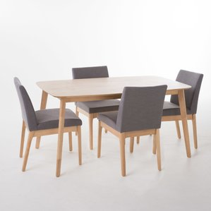 Pictures of dining room table and chair sets tunis 5 piece dining set tghdlys