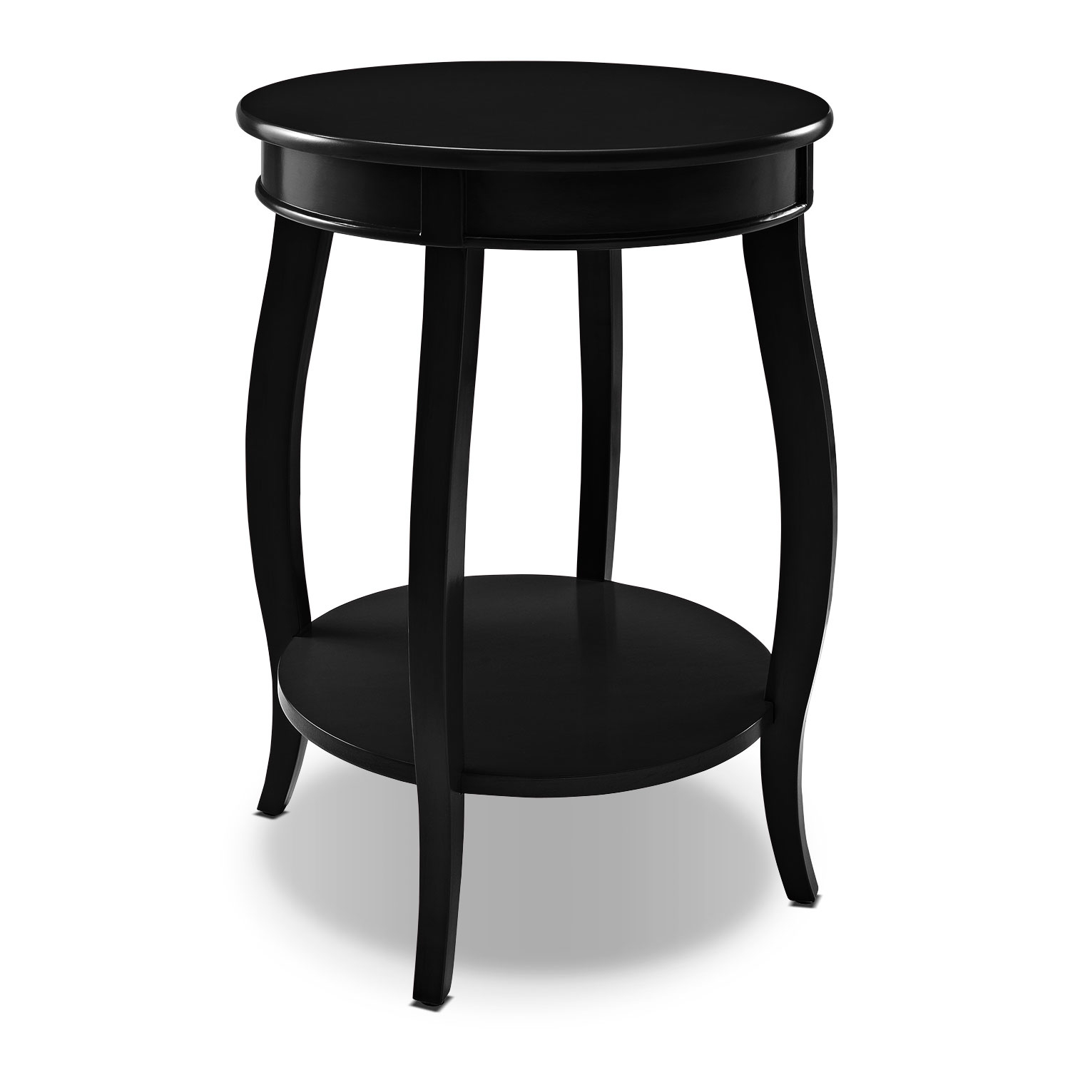Pictures of end tables for living room sydney accent table - black vxwlhtw