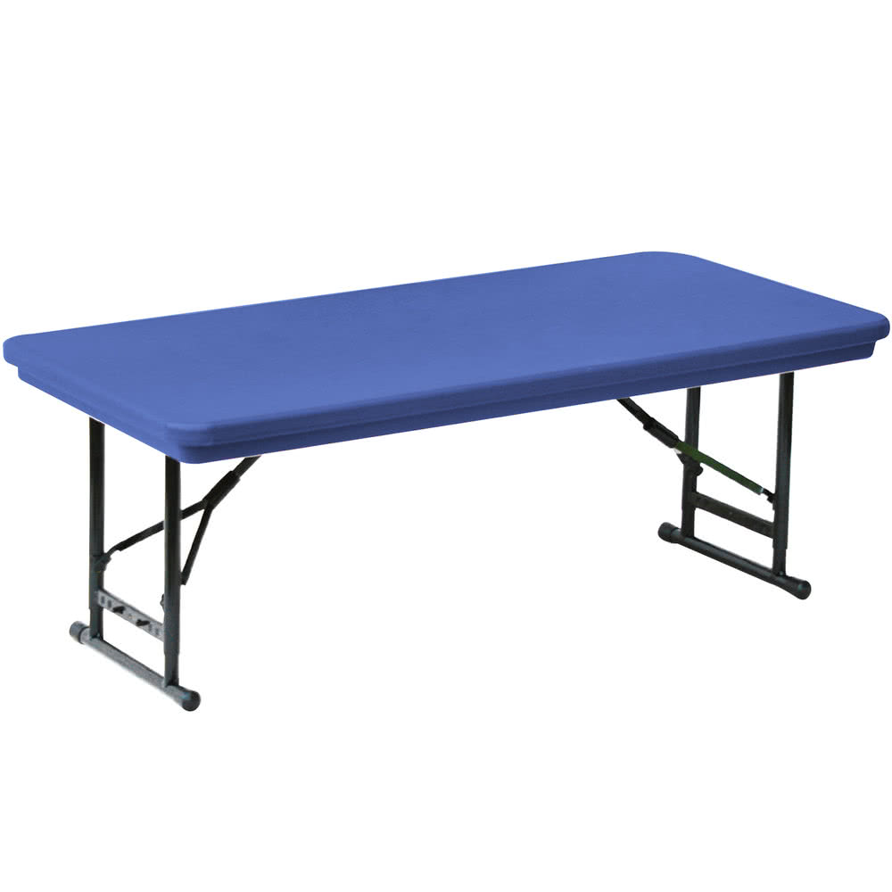 Popular adjustable height folding table main picture trmkymz