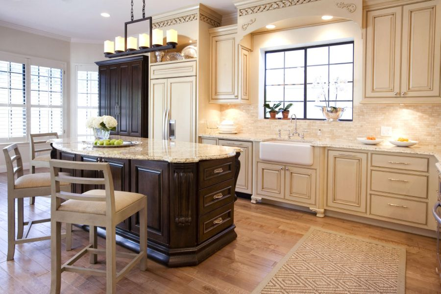 Popular country kitchen cabinets 20 ways to create a french country kitchen twqzqsn