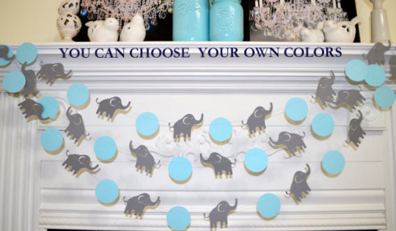 Popular elephant baby shower decorations like this item? nnxqjly