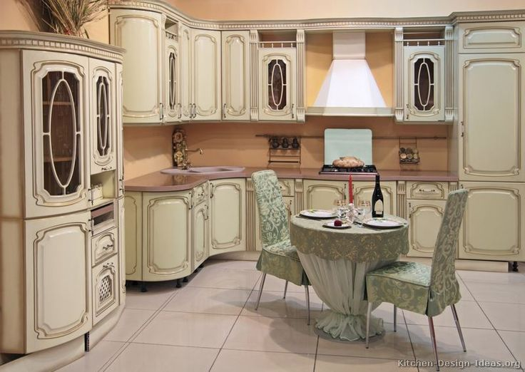Stunning antique white kitchen cabinets pictures of kitchens - traditional - off-white antique kitchen cabinets  (page mqlhktv