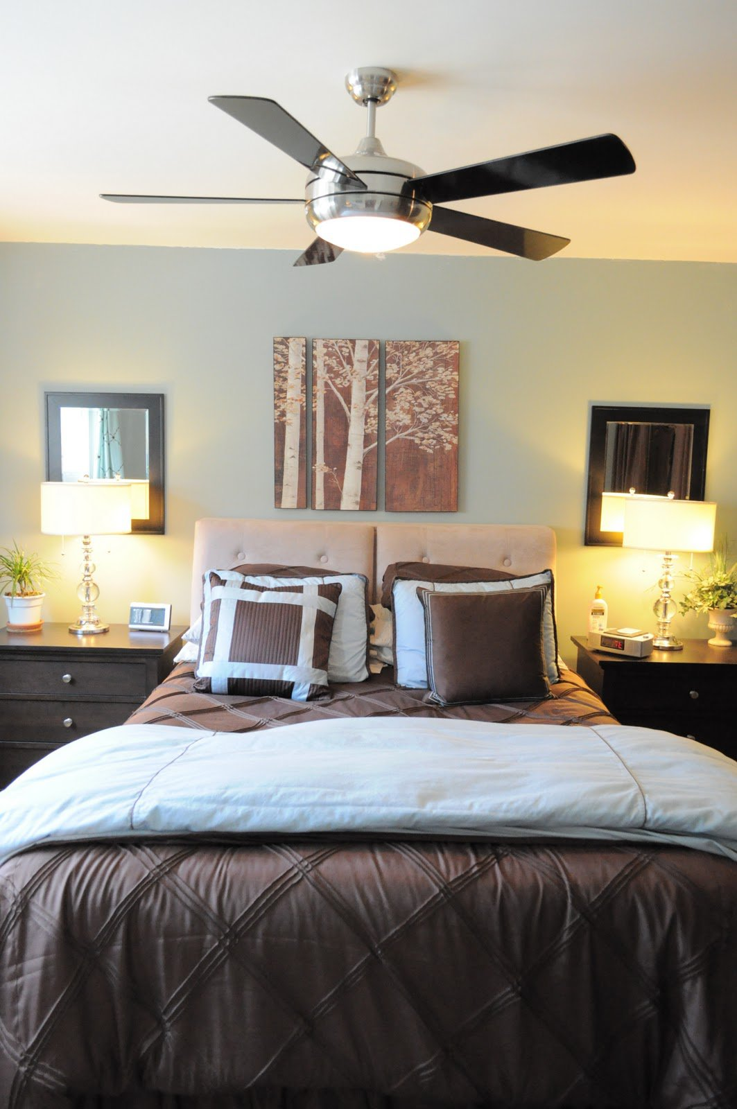 Stunning bedroom ceiling fans with lights image of: ceiling fans with lights modern umhwtbx