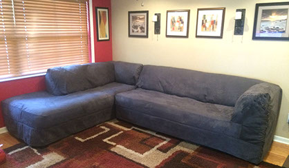 Stunning couch covers for sectionals custom made sectional slipcovers with attached cushions neptwop