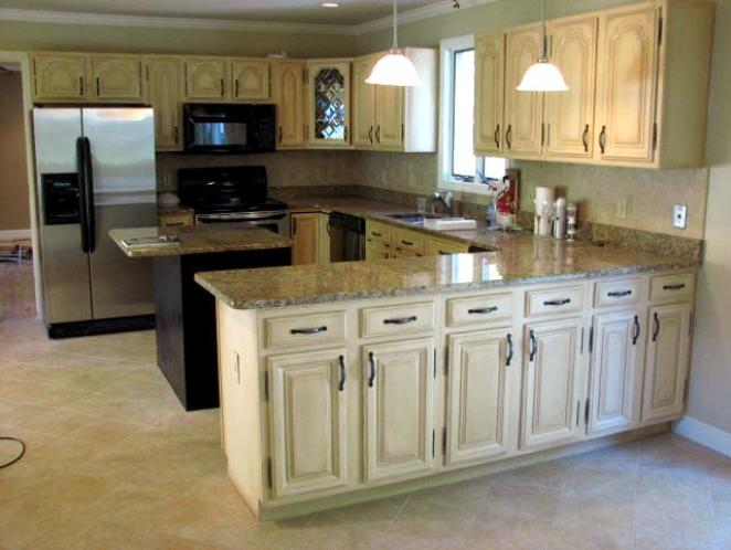 Stunning distressed kitchen cabinets ... distressed white kitchen cabinets sensational 14 how to paint ... ffkktnc