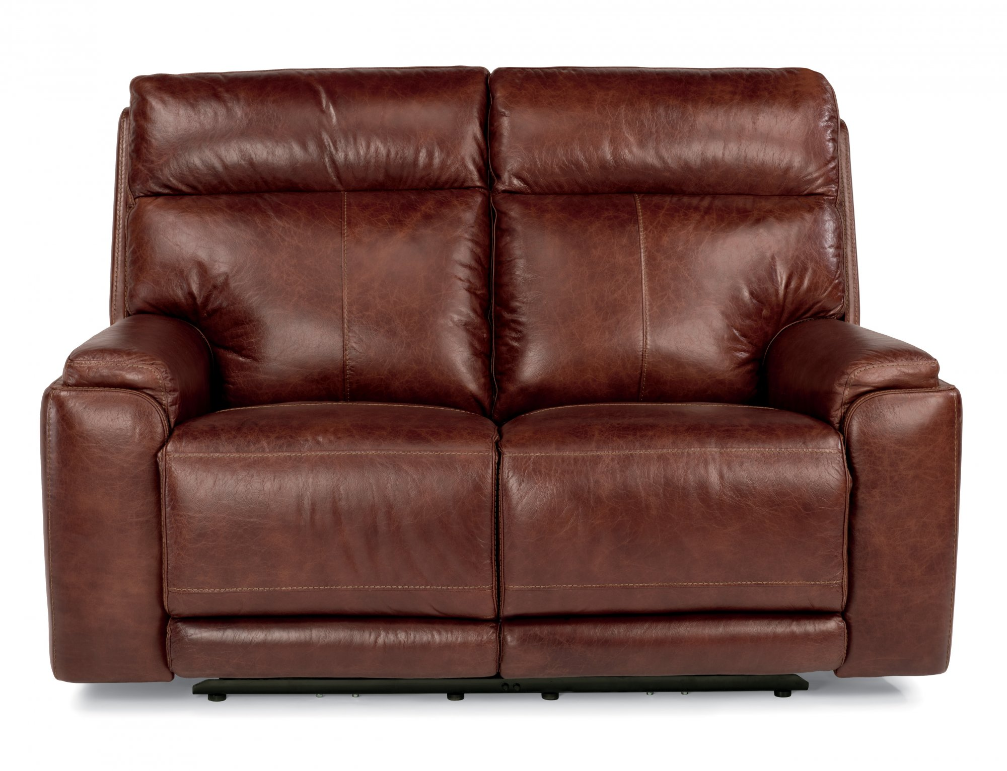 Stunning leather reclining loveseat leather power reclining loveseat with power headrests ukaxlpf