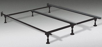 Stunning metal king size bed frame amazon.com: heavy duty king metal bed frame with center support and 6 glide qjhxfzy