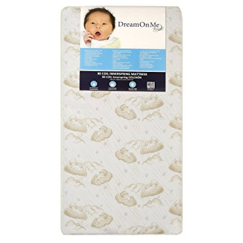 Stunning toddler bed with mattress dream on me spring crib and toddler bed mattress, twilight arotesn