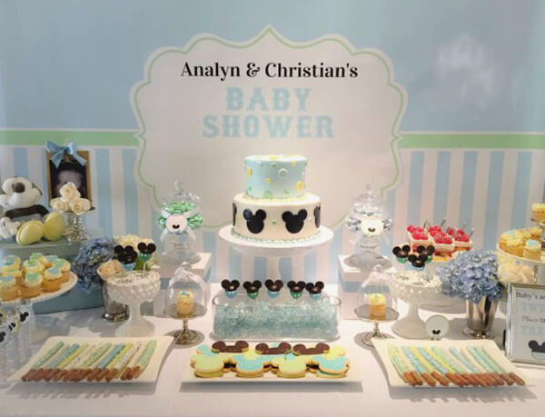 Stylish baby shower decorations for boy boy baby shower theme idea by 17 - shutterfly.com hhlicxy