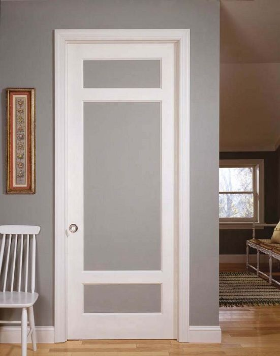 How to select interior doors with glass